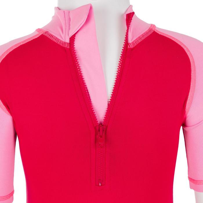 tee shirt anti UV shorty surf manches courtes bébé - 1095336