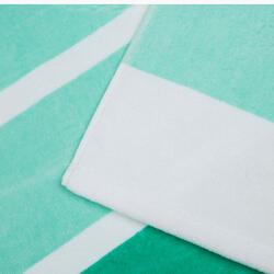 Handdoek Basic L print Rainbow Bluebird 145x85 cm - 1095376
