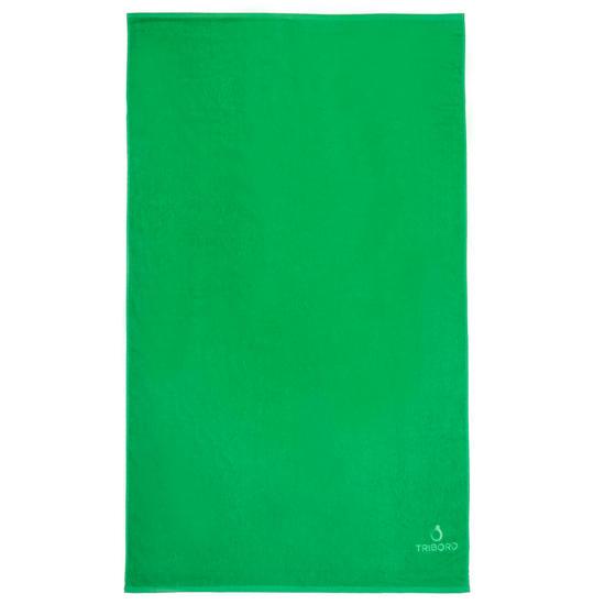 Handdoek Basic L Celtic blue 145x85 cm - 1095405