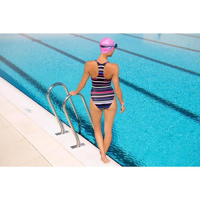 Maillot de bain de natation une pièce femme Leony + - 1095451