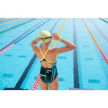 Maillot de bain de natation fille une pièce Kamiye light - 1095453