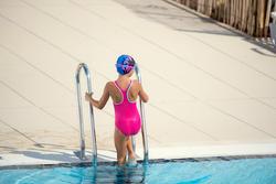 Meisjesbadpak Leony+ voor zwemmen - 1095457