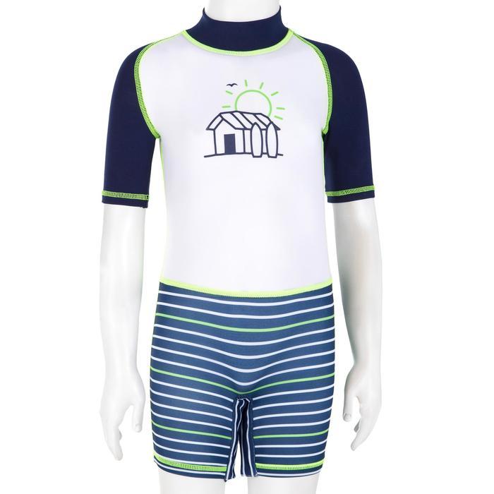 tee shirt anti UV shorty surf manches courtes bébé - 1095508