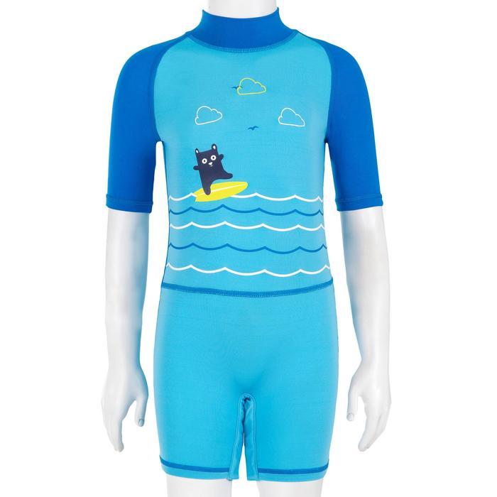 tee shirt anti UV shorty surf manches courtes bébé - 1095532