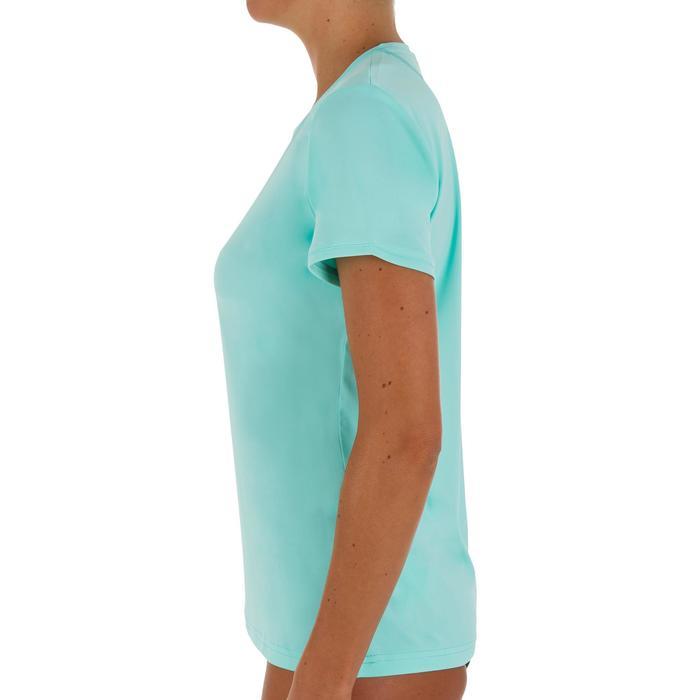 water tee shirt anti UV surf manches courtes femme - 1095560