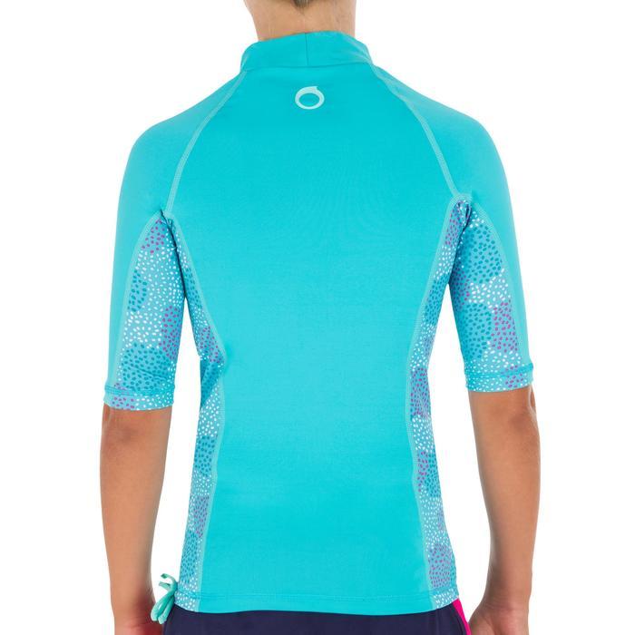 tee shirt anti uv surf top 500 Manches Courtes Enfant - 1095590