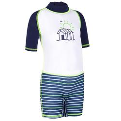 tee shirt anti UV shorty surf manches courtes bébé