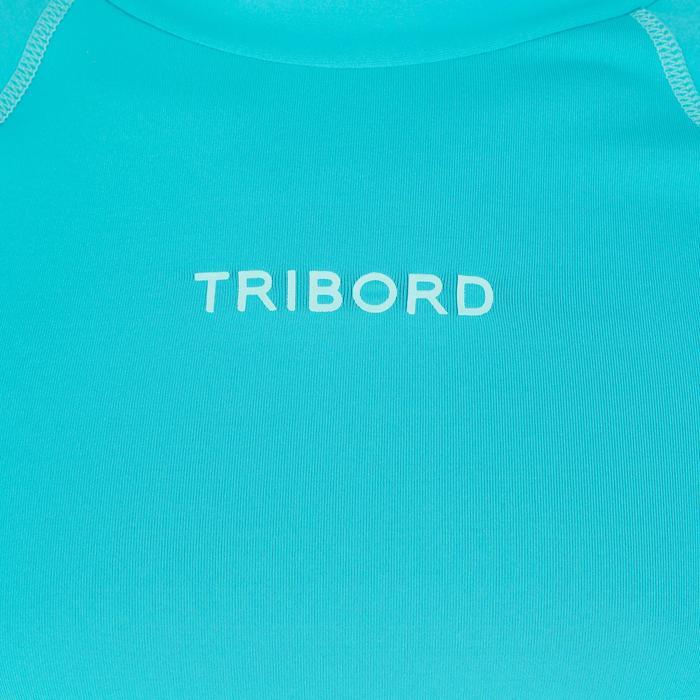 tee shirt anti uv surf top 500 Manches Courtes Enfant - 1095622