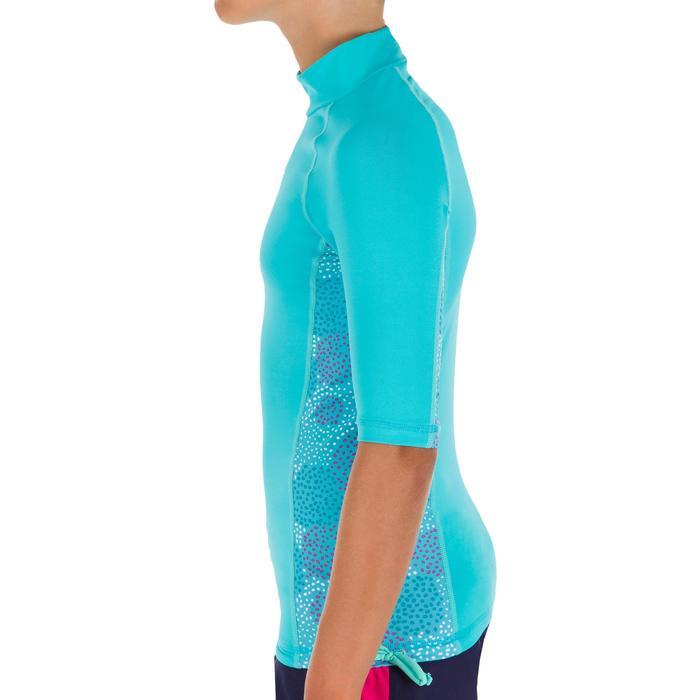 tee shirt anti uv surf top 500 Manches Courtes Enfant - 1095652