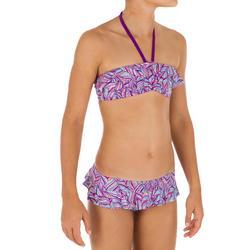 Bikini-Set Bandeau Lila Seya Happy Mädchen
