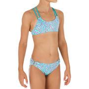 Bikini top DE SURF NIÑA BAHIA PALM AZUL