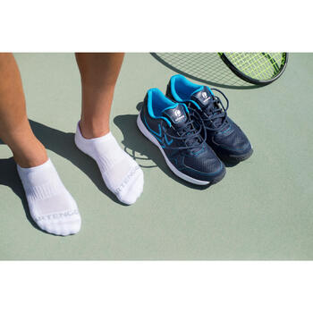 RS 500 Low Sports Socks Tri-Pack - Pink/Blue/White