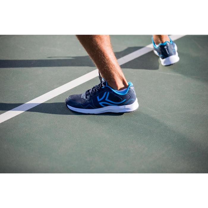 Lage sportsokken voor volwassenen Artengo RS500 blauw/turquoise 3 paar