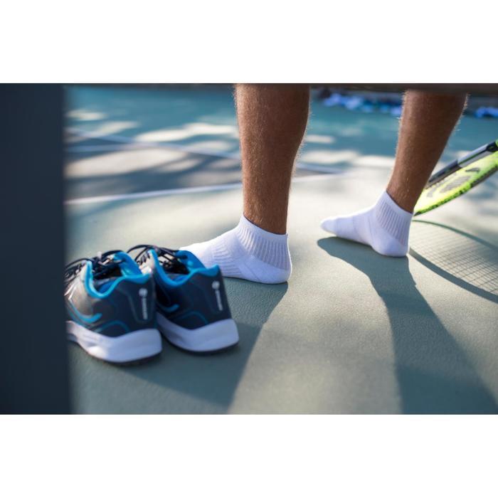 Halfhoge sportsokken voor volwassenen Artengo RS 500, wit, set van 3 paar