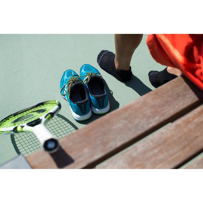 Tennissokken RS 500 low zwart 3 paar