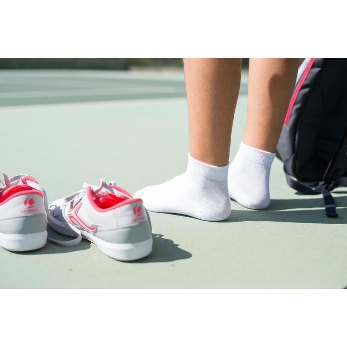 Halfhoge sportsokken voor volwassenen Artengo RS 160, wit, set van 3 paar