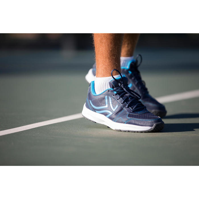 Mid Tennis Socks RS 500 Tri-Pack - White