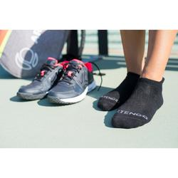 Tennissocken RS 500 Low 3er-Pack schwarz