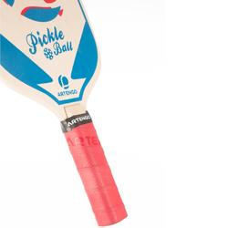Set van 2 Pickleball paddles blauw