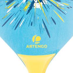 Set de raquetas para tenis de playa woody rackets Azul