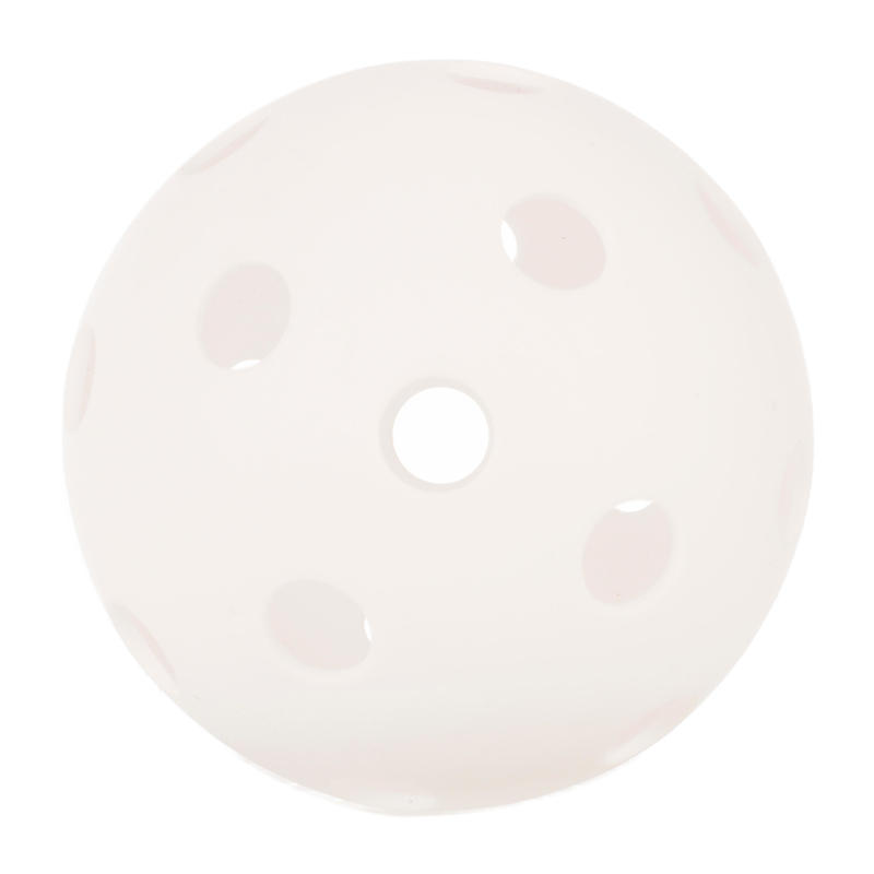 Balle de pickleball blanche