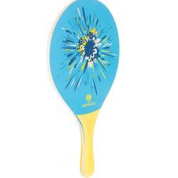 Set raquetas tenis playa woody rackets Azul