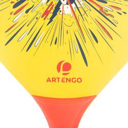 Woody Beach Tennis Racket Set - Yellow