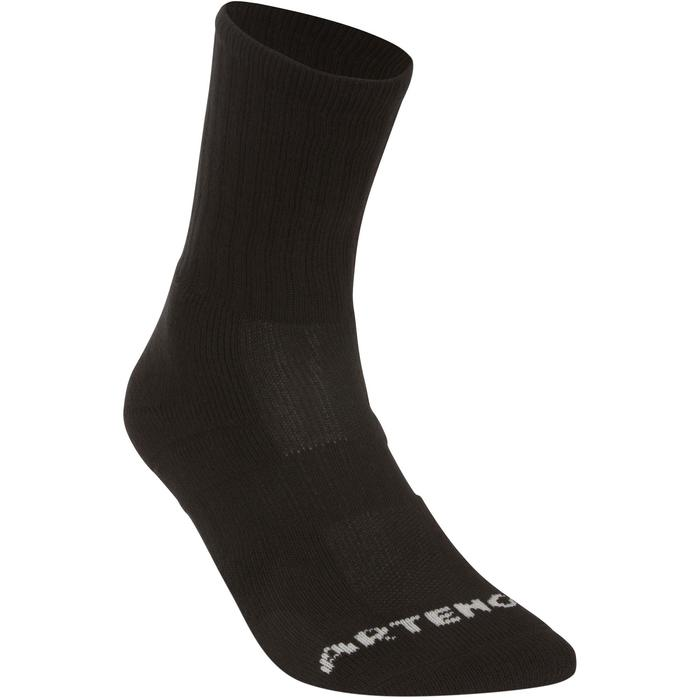 Tennissocken RS 500 High 3er Pack schwarz