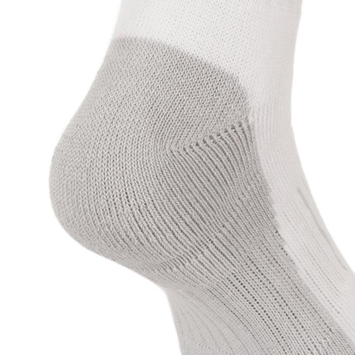 3雙入青少年款高筒運動襪RS 500-白色