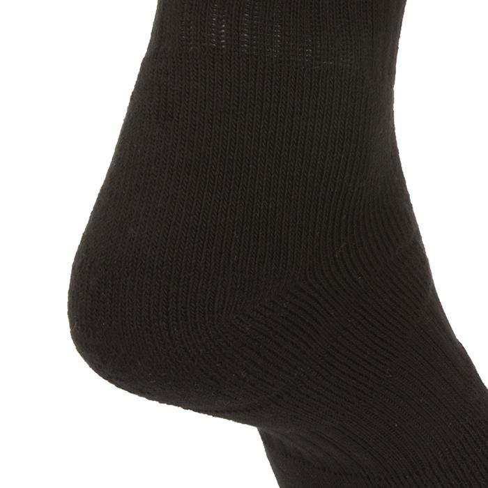 高筒運動襪RS 500-黑色(3雙入)