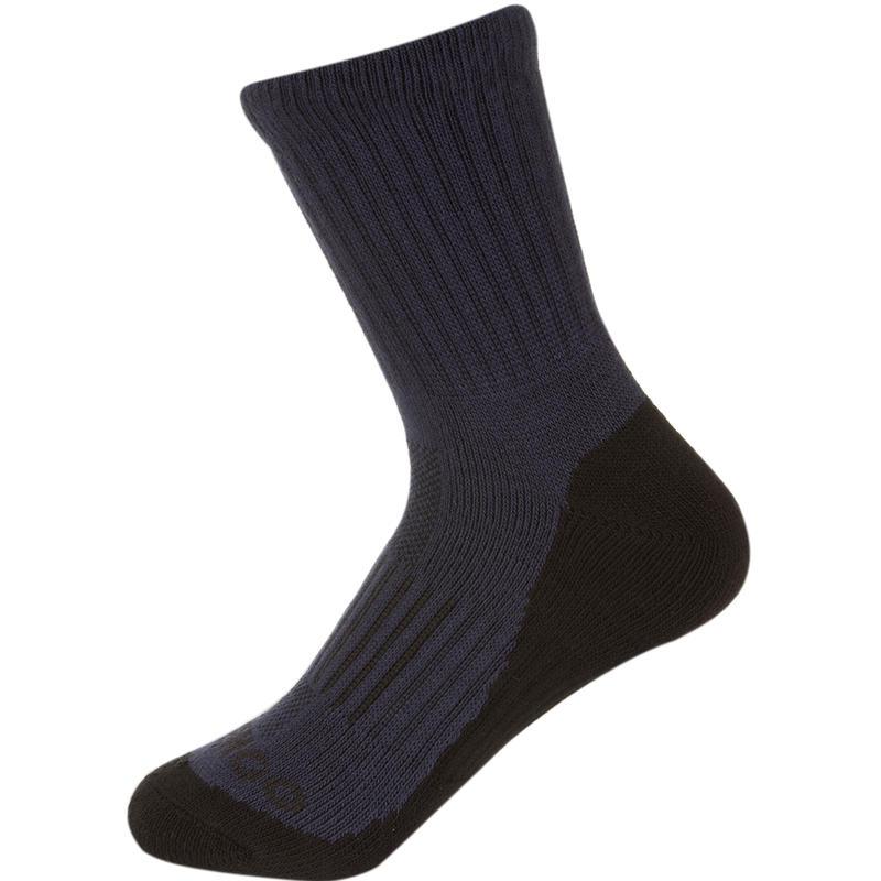 RS 500 Junior High Racket Sports Socks Tri-Pack - Navy