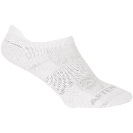 Low Tennis Socks RS 500 Tri-Pack - White