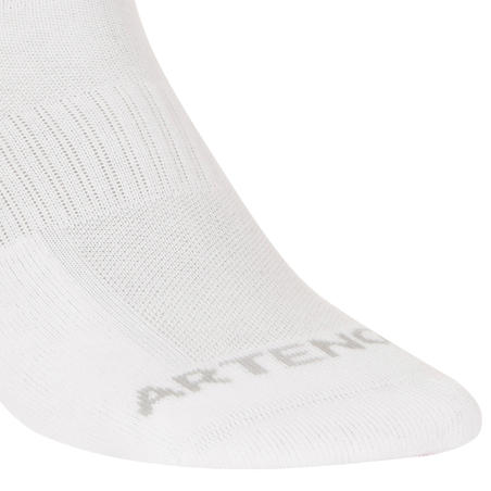 RS 500 Mid Tennis Socks Tri-Pack - White
