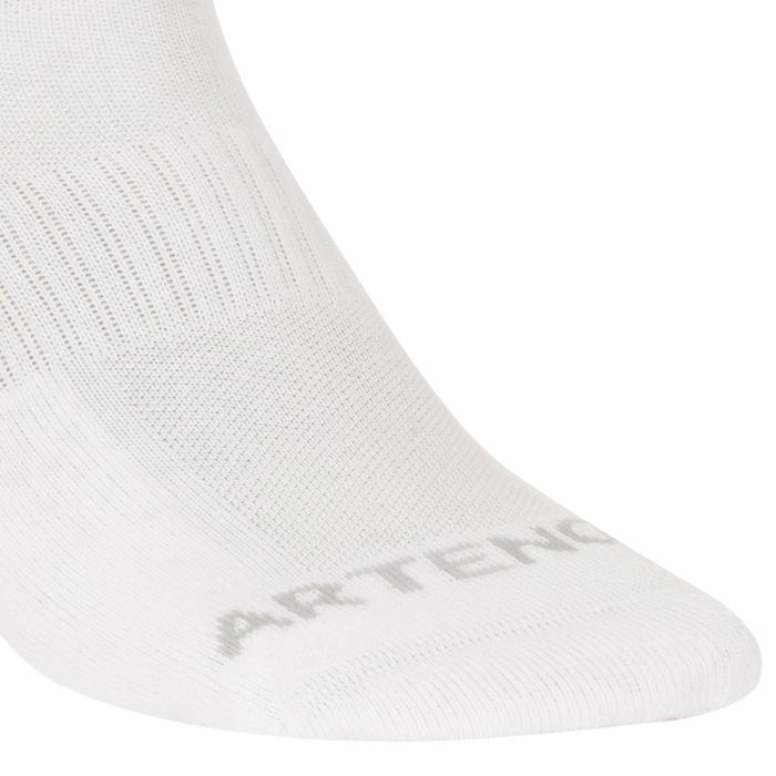Mid Tennis Socks RS 500 Tri-Pack - White