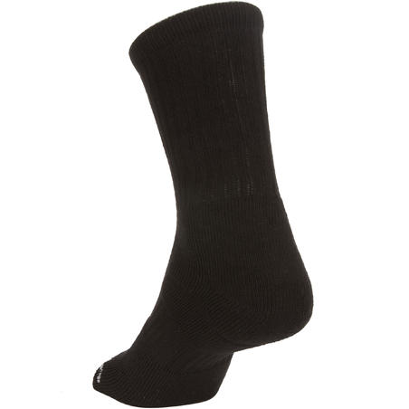 RS 500 High Tennis Socks Tri-Pack - Black