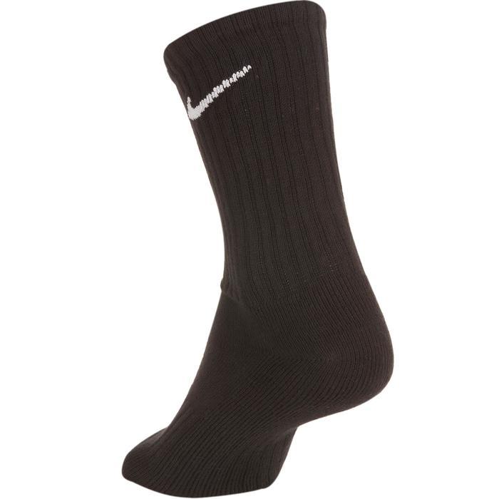 Hoge sokken racketsport Nike Basic zwart set van 3