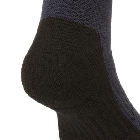 Kids' High Tennis Socks RS 500 Tri-Pack - Navy