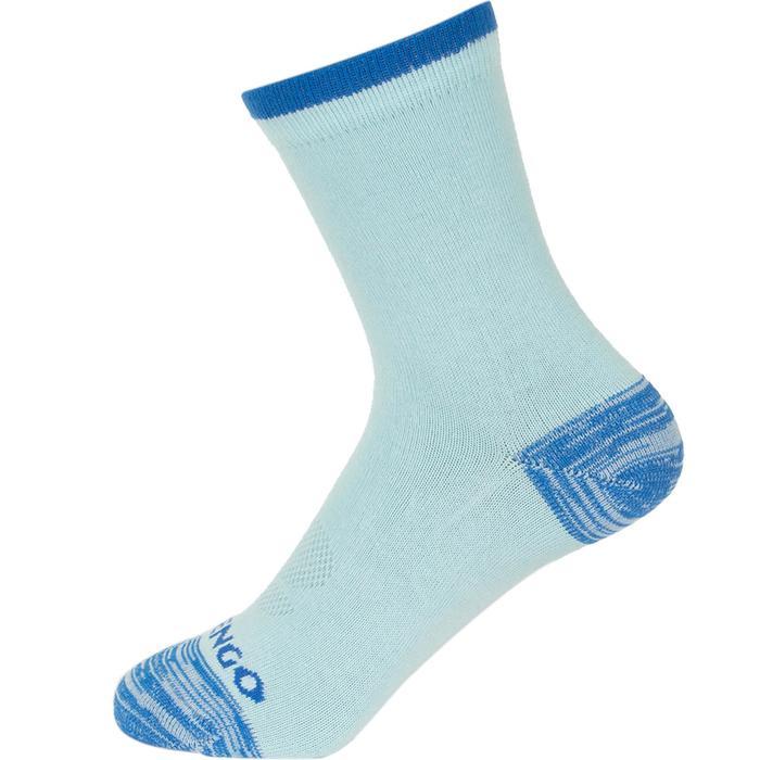 Hoge sportsokken kinderen Artengo RS 160 blauw 3 paar