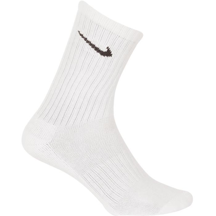 Hoge witte sportsokken voor tennis Nike 3 paar