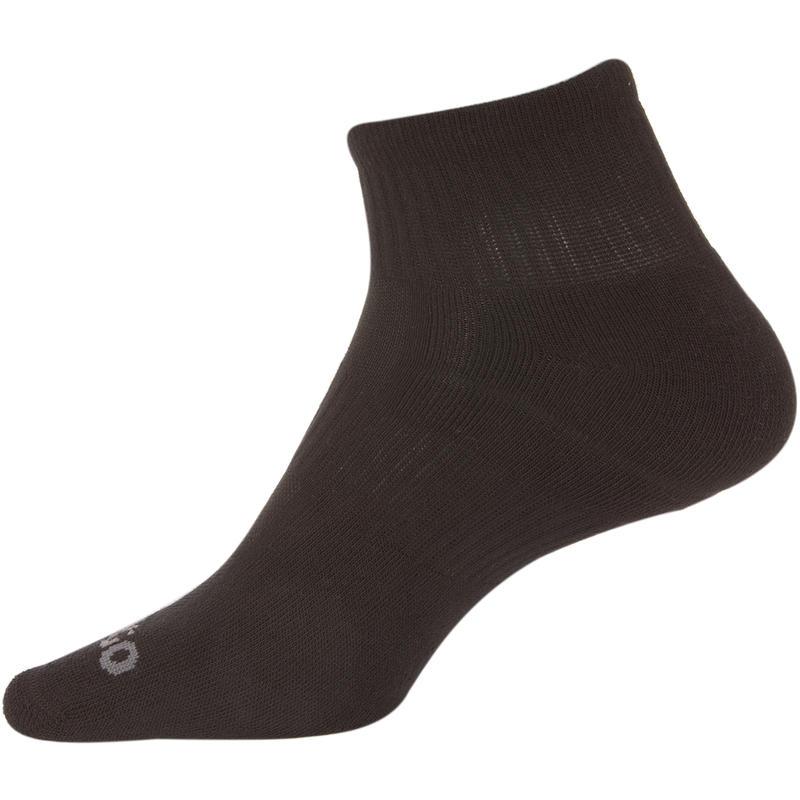 Mid-High Tennis Socks RS 500 Tri-Pack - Black