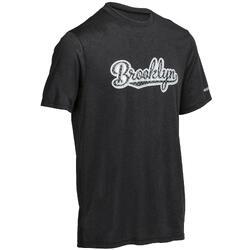 Basketbal T-shirt Fast Brooklyn voor heren zwart