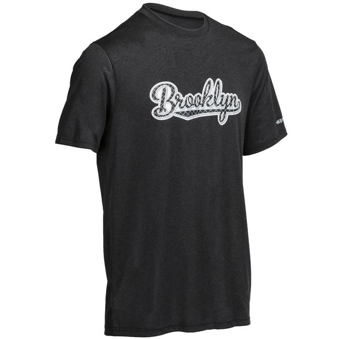 Basketbal T-shirt Fast Brooklyn voor heren zwart