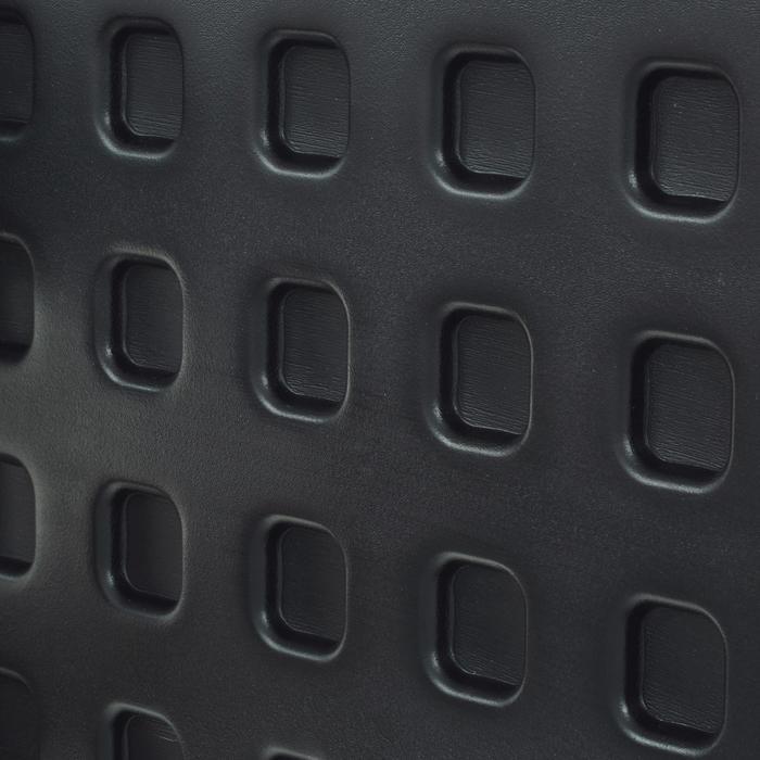 Panneau de basket B300 noir orange pour enfant et adulte à fixer au mur. - 1096918