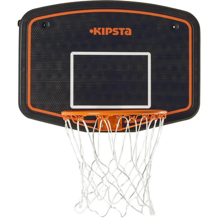 Panneau de basket B200 EASY bleu orange à fixer au mur. Enfant jusqu'à 10 ans.