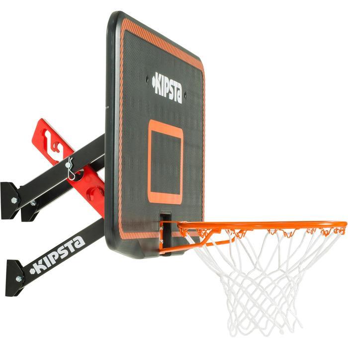Fixation murale de basketball pour panneaux B200/B300/B700. 3 hauteurs de jeu