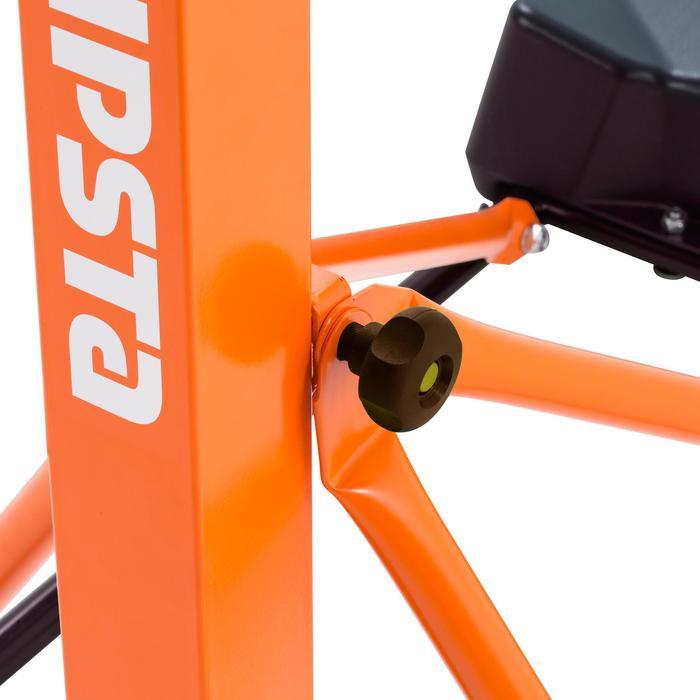 Panier de basket enfant/adulte B400 EASY noir rouge. 2,40m à 3,05m sans outils. - 1096989