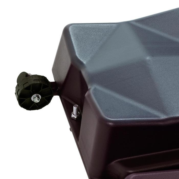 Panier de basket enfant/adulte B400 EASY noir rouge. 2,40m à 3,05m sans outils. - 1096992