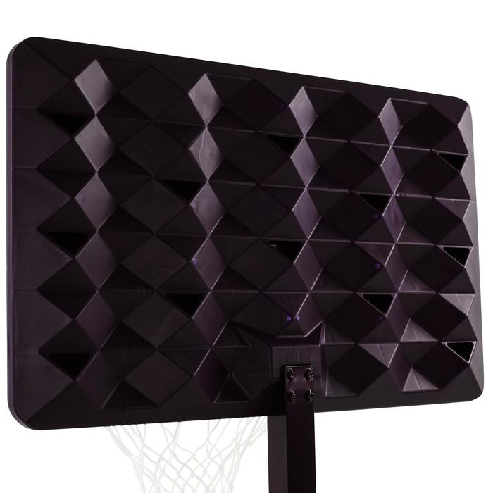 Panier de basket enfant/adulte B400 EASY noir rouge. 2,40m à 3,05m sans outils. - 1097002