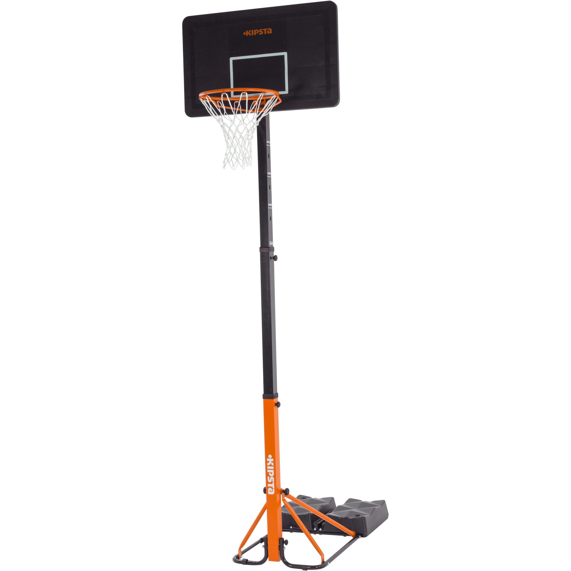 Tarmak Basketbalpaal B400 Easy: 2.40 tot 3.05 meter