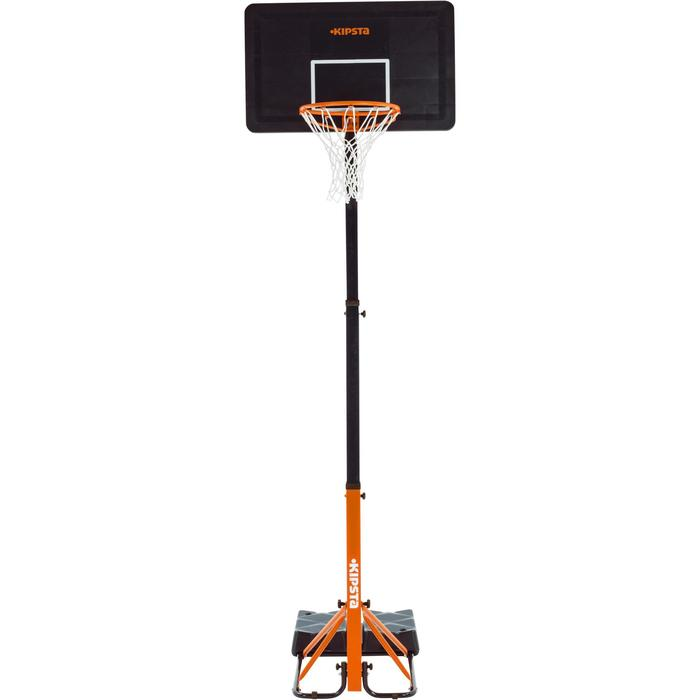 Panier de basket enfant/adulte B400 EASY noir rouge. 2,40m à 3,05m sans outils. - 1097021